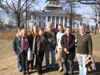 A trip with seminar of lecturers and students of the Chair to Pushkin's Places