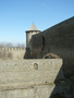 High wall of Ivangorod fortress