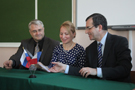 A meeting with the consul-general of France in Saint-Petersburg