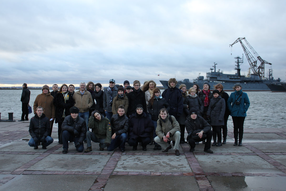 A trip with seminar of lecturers and students of the Chair to Karelian Neck