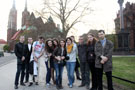 A trip of lecturers and students of the Chair to Wroclaw in spring 2012