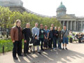 A visit of the Delegation of Wroclaw University to Saint-Petersburg in Spring 2013