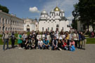 A trip with seminar of lecturers and students of the Chair to Veliky Novgorod